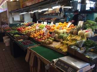 Fruit stall at Pike Place Market