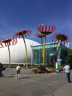 Sculpture Seattle Science Center